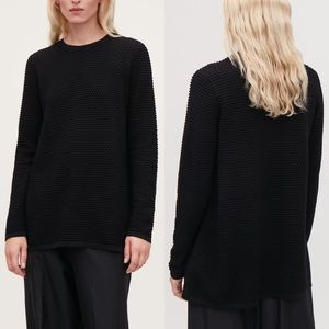COS Textured A-Line Top